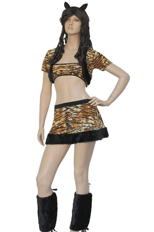 Halloween Wild Fairy Cat Costume for Women