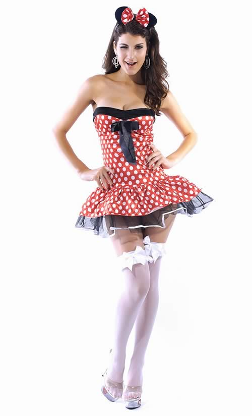 Halloween Cute Mouse Costume for Women