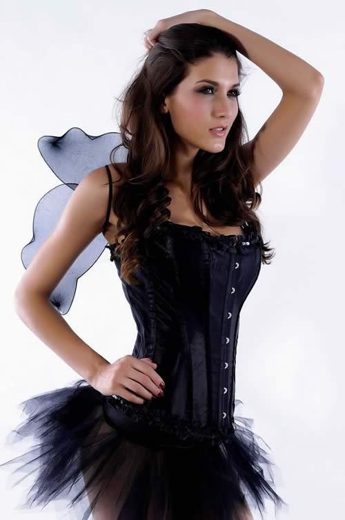 Fashion Black Butterfly Halloween Costume