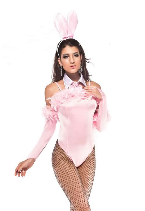 Trendy Bunny Animal Cosplay Costume