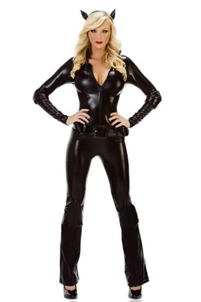 Women Cat Burglar Halloween Costume