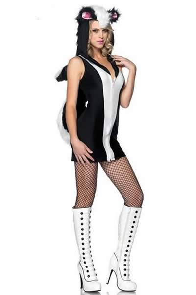 Stinkin Cute Skunk Costume for Women