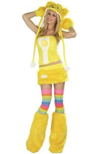 Cute Fission Pikachu Halloween Costume in Yellow