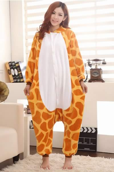 Lovely Giraffe Onesies Pajamas for Women
