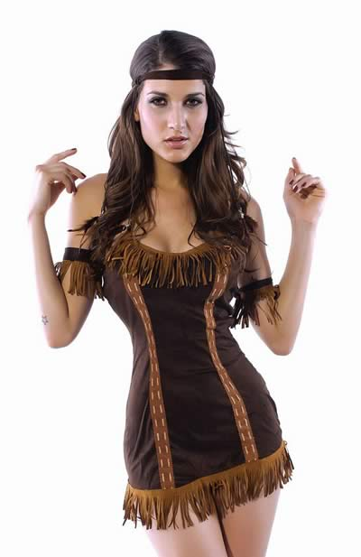 Halloween Indian Princess Girl Costume