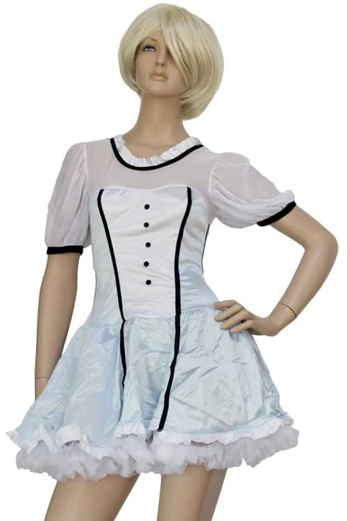 Girly Alice Fairy Tale Costumes in Light Blue