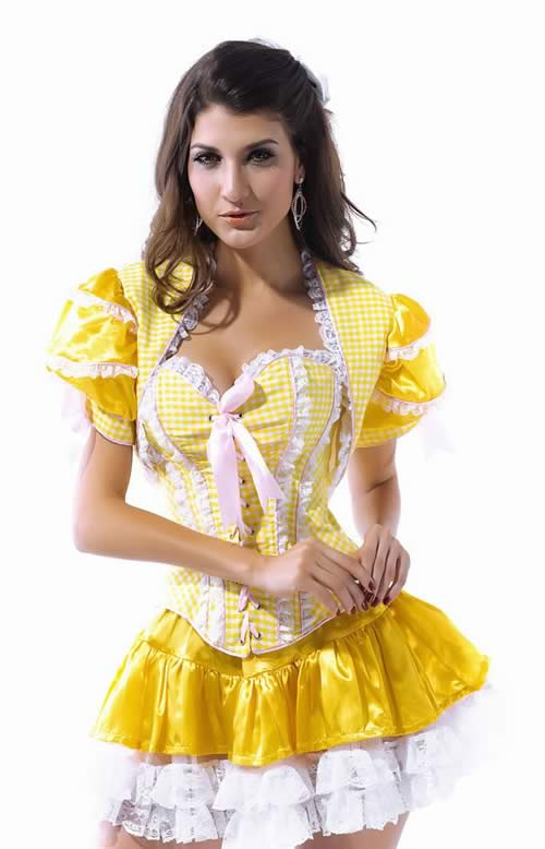 Halloween Yellow Fairytale Costume for Women