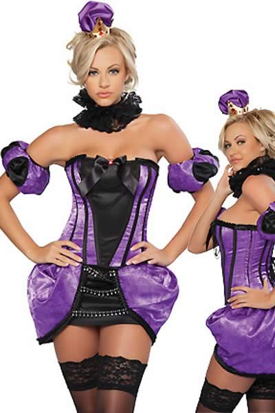 Royal Purple Fairy Tale Costume for Women