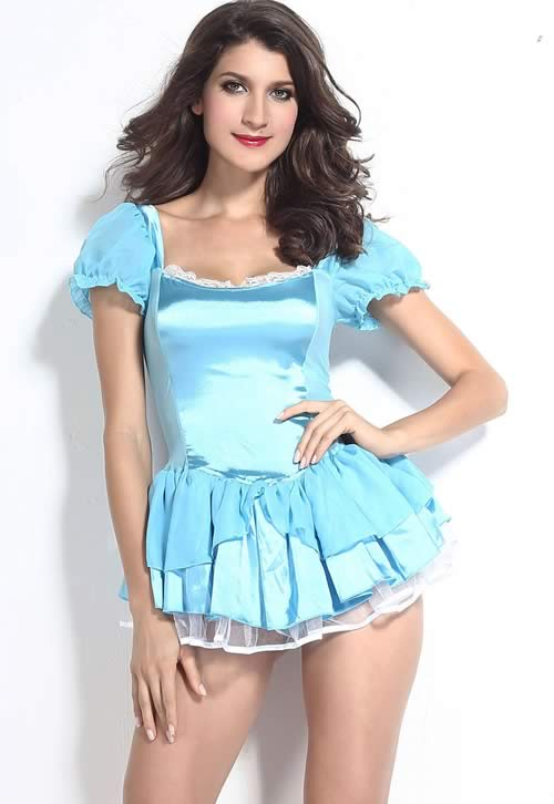 Cosplay Cute Cinderella Fancy Dress Costume
