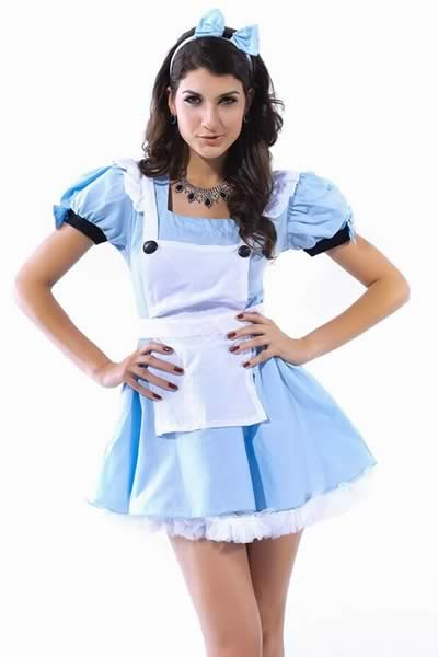 Best Wonderland Mini Dress French Maid Costumes