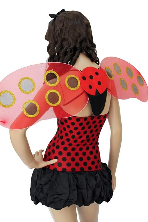 Cosplay Lady Bug Costume for Girl