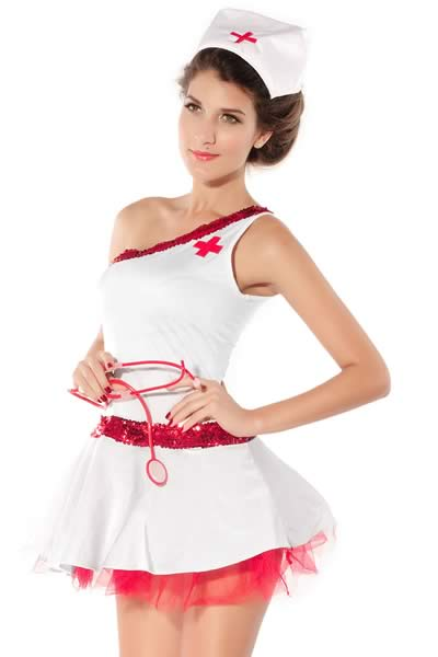 Slut Nurse Halloween Costume for Girl