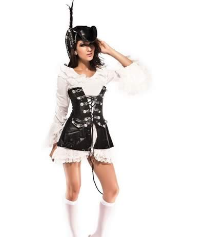 Cosplay Best Rogue Pirate Costume for Women