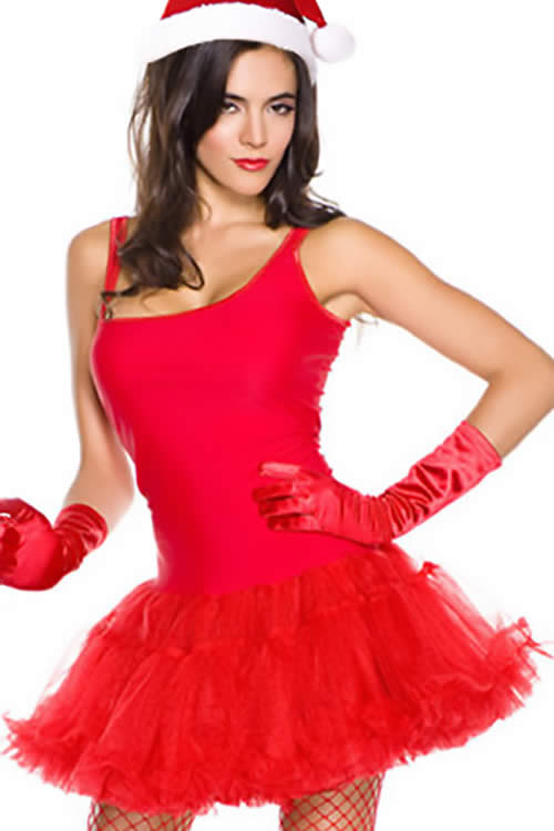 Sweetie Miss Santas Christmas Costumes for Women