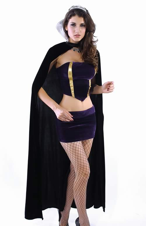 Halloween Deluxe Wicked Queen Costume for Women