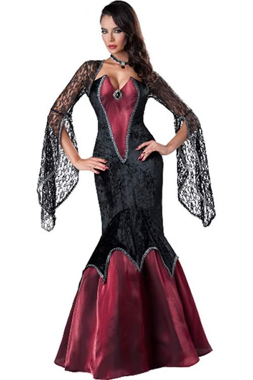 Deluxe Women Vampire Halloween Costume