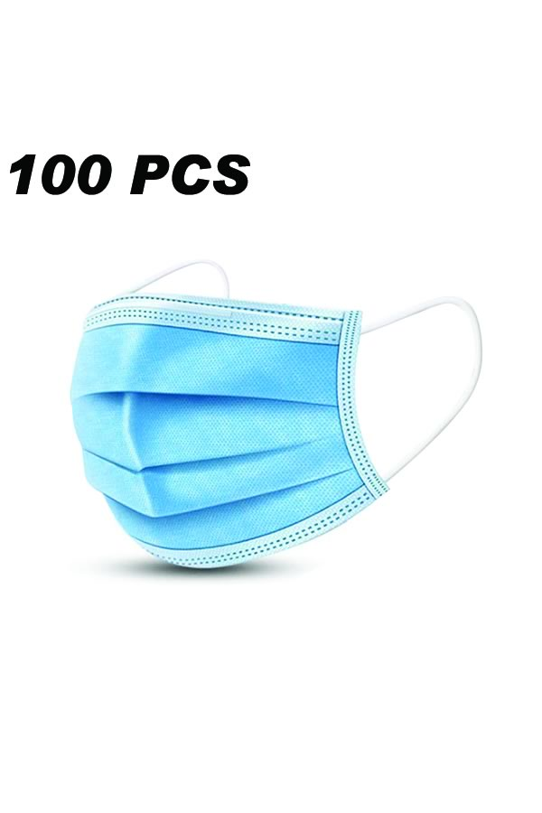 100PCS Nonwoven Disposable Breathable with Elastic Strip