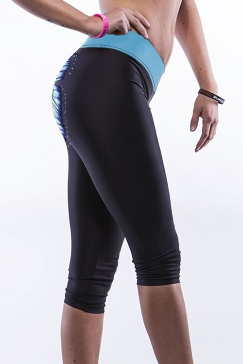 Women Butterfly Sports Gym Running Yoga Pants