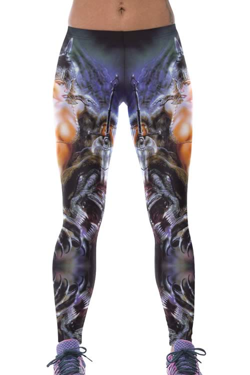 Warrior Goddess Sports Yoga Leggings