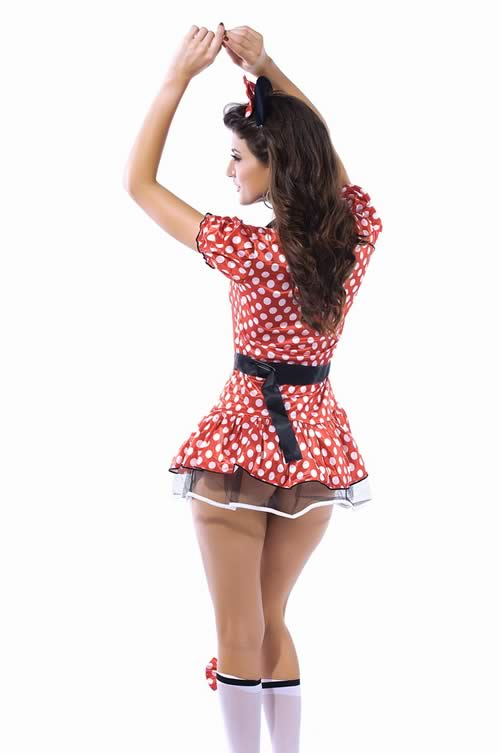 Marvelous Miss Polka Dot Mouse Halloween Costume
