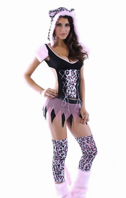 Halloween Naughty Cat Costume for Women