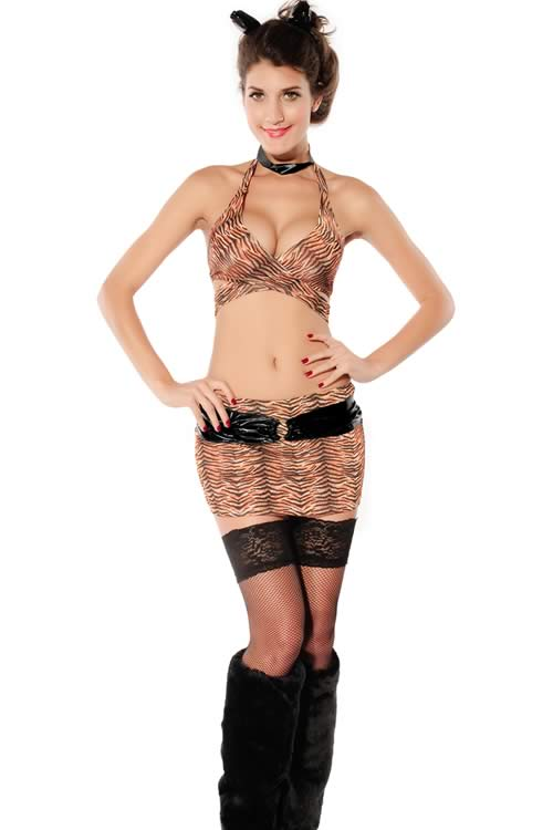 Tiger Animal Cosplay Costumes for Women