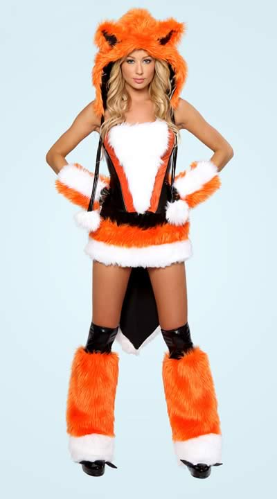 Best Sexy Adult Fox Halloween Costume for Women