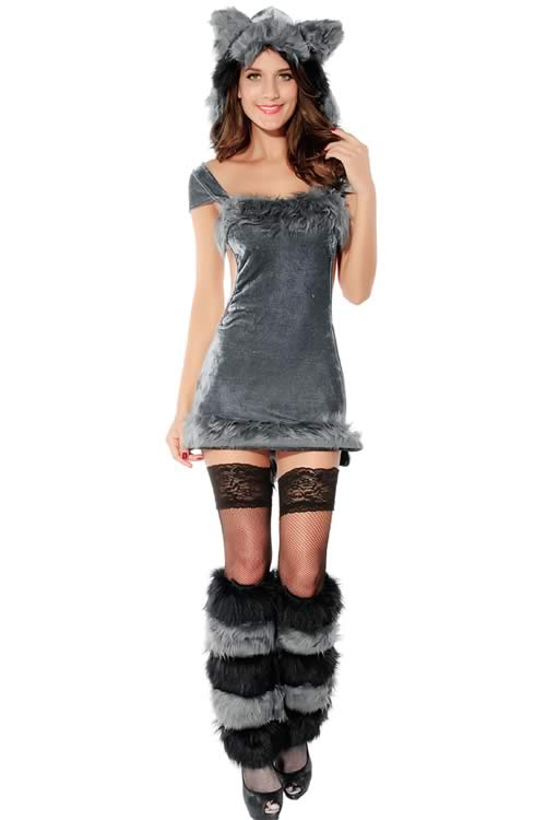 Cosplay Naughty Animal Raccoon Costumes