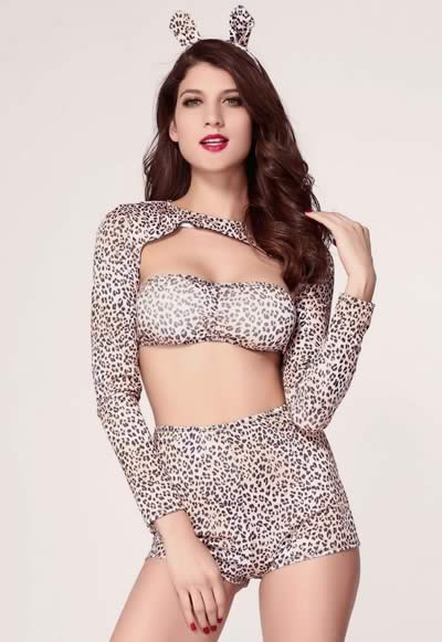 Exclusive Women Cheetah Halloween Costume