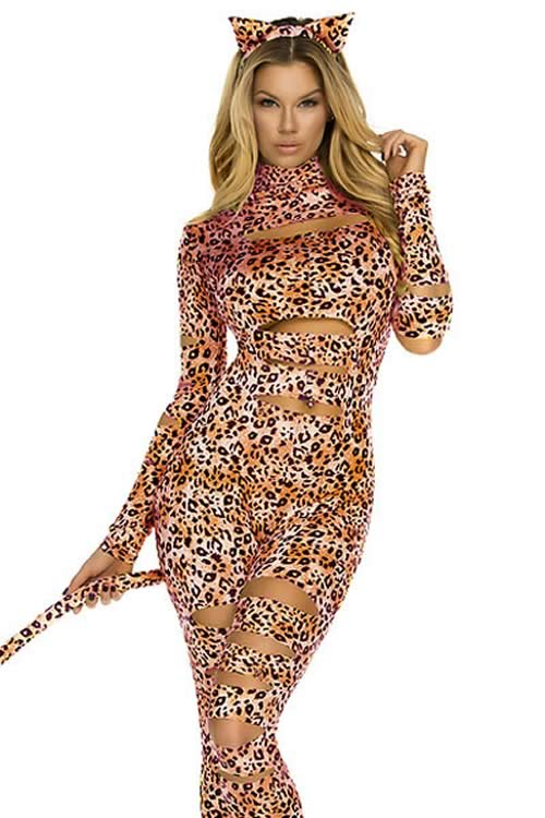 Cosplay Wild Leopard Cat Costume for Women