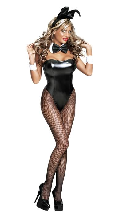Cosplay Cute Women Club Bunny Costume