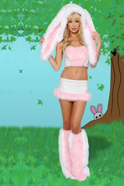 Exclusive Floppy Eared Bunny Rabbit Costume