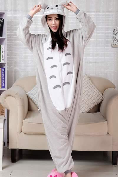 Cosplay Cartoon Totoro Onesies Pajamas for Women