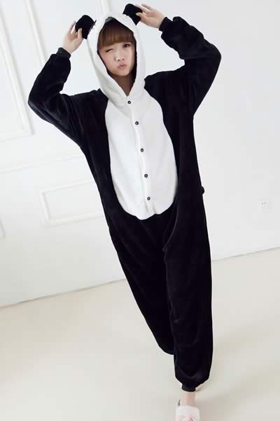 Panda Onesies Pajamas Party Costume