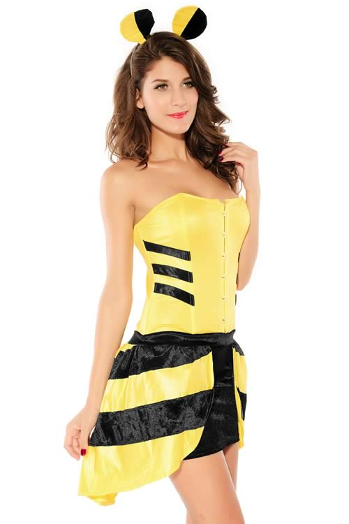 Cosplay Classic Bumble Bee Costume for Girl