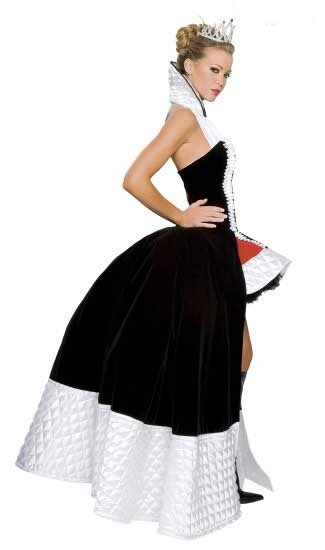 Noblest Fairy Tale Queen of Hearts Halloween Costume