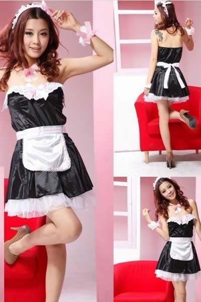 Cosplay Fun Service French Maid Costume for Women