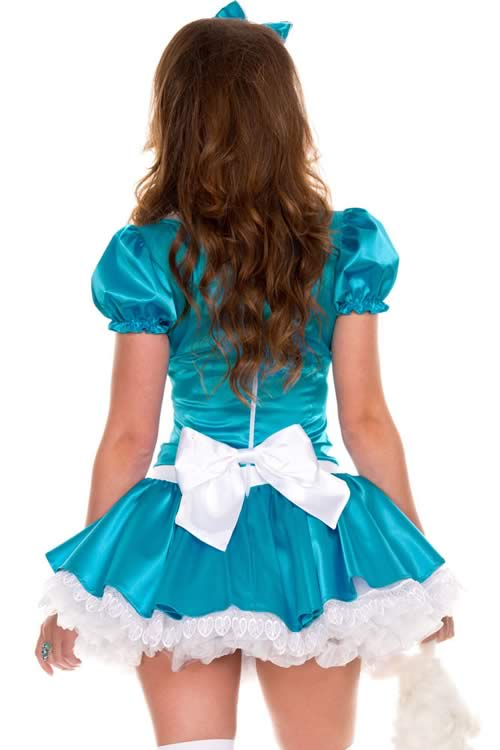 Cosplay Shining French Maid Costume in Blue