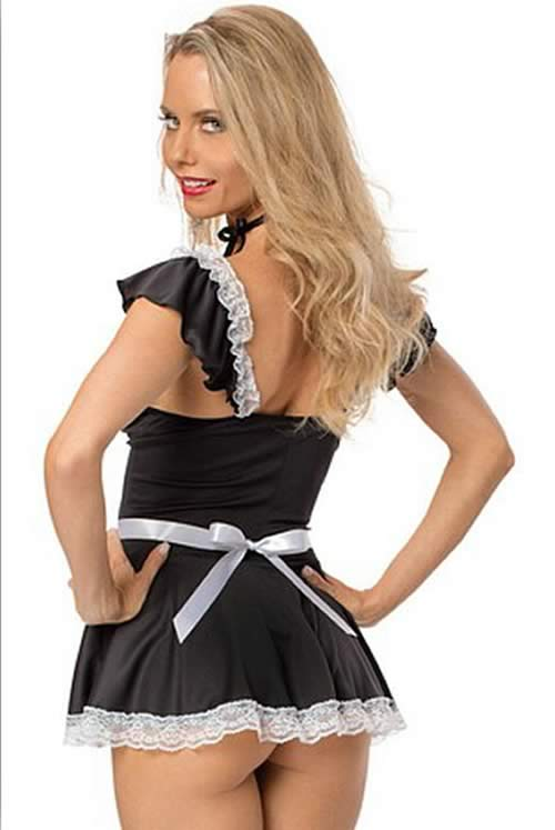 Cosplay Naughty Housework Dress Maid Costume for Women