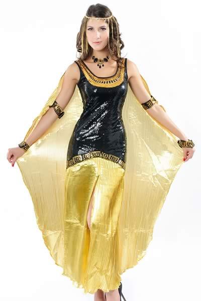 Halloween New Elegant Cleopatra Costume for Women