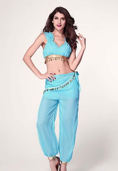 Halloween Genie Costume for Women
