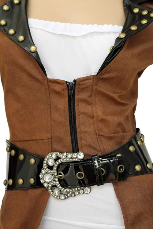 Cosplay Deluxe Pirate Captain Costume for Women