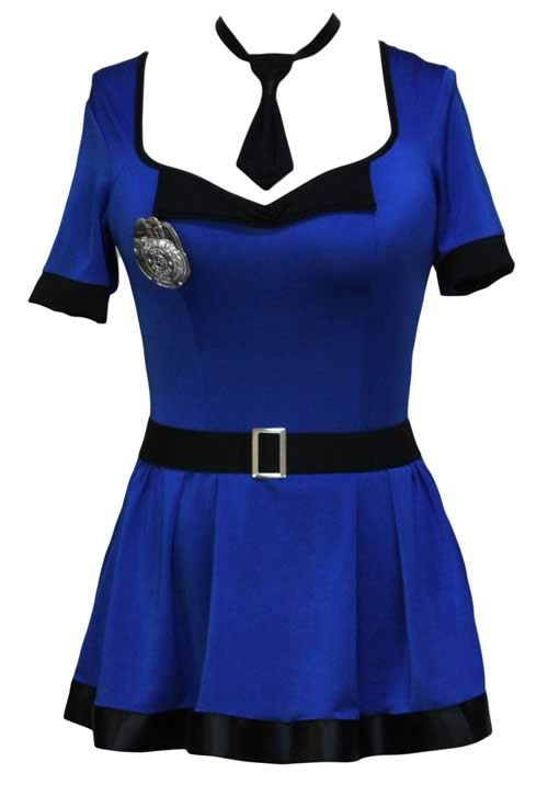 Naughty Corrections Officer Costume for Women