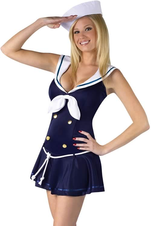 Anchors Away Sailor Costume for Women