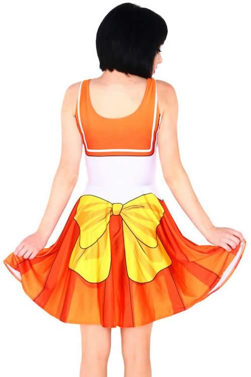 Cosplay Sailor Moon Halloween Costume in Orange