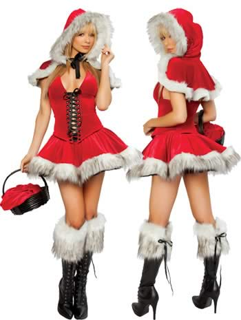 Christmas Lil Red Riding Hood Costumes