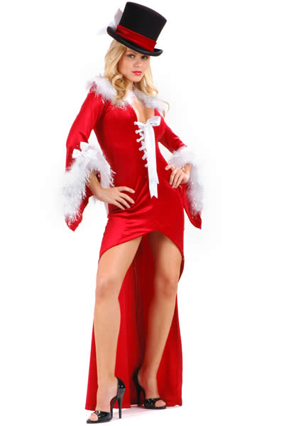 Drag Back Mistress Christmas Long Dress