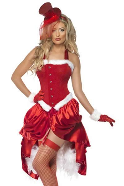 Fever Santa Baby Burlesque Christmas Costume