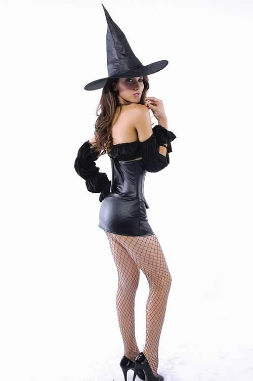 Waist Cincher Witch Halloween Costume for Women