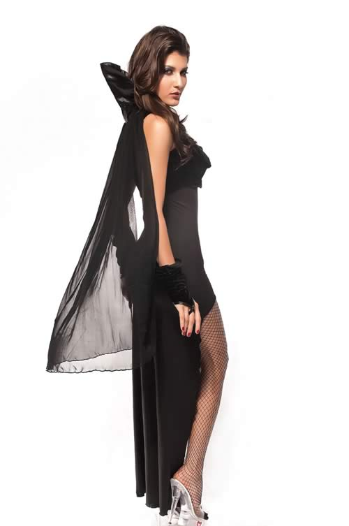 Countess Vampire Halloween Costume for Women